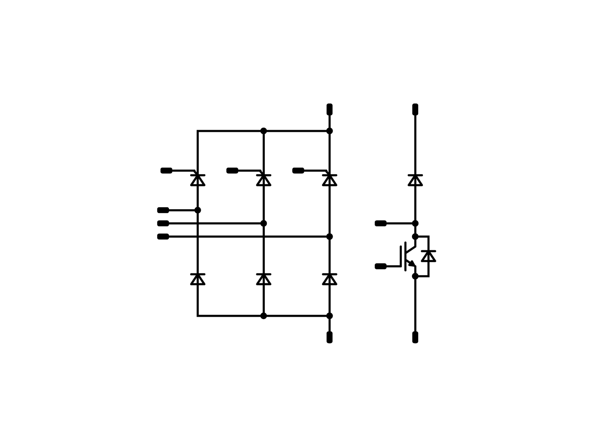 Rectifier Vincotech Halfwave Topology The Circuit Is A