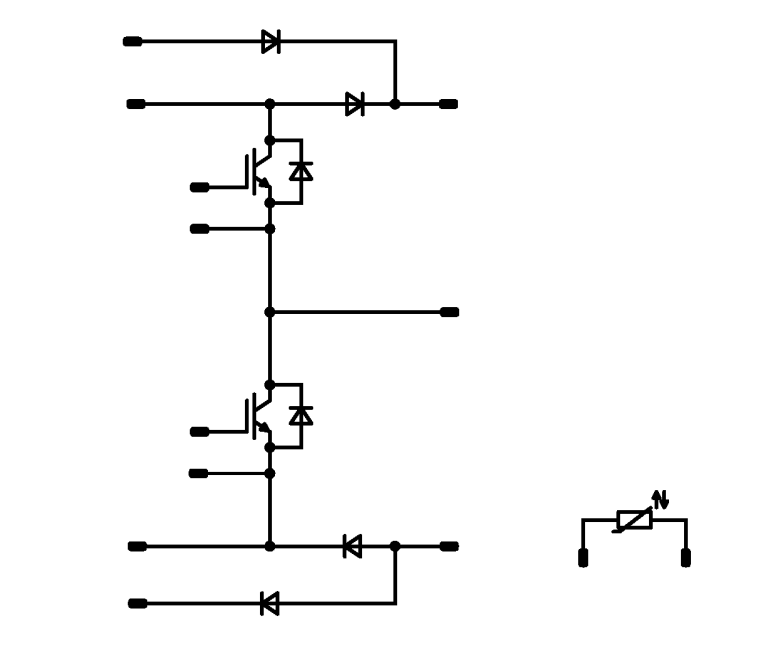 Symm. Boost-KE-Bypass diode-NTC
